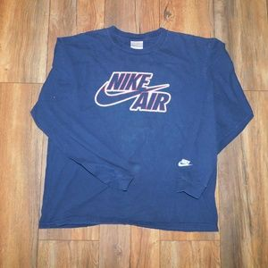 Vintage Nike air long sleeve tshirt